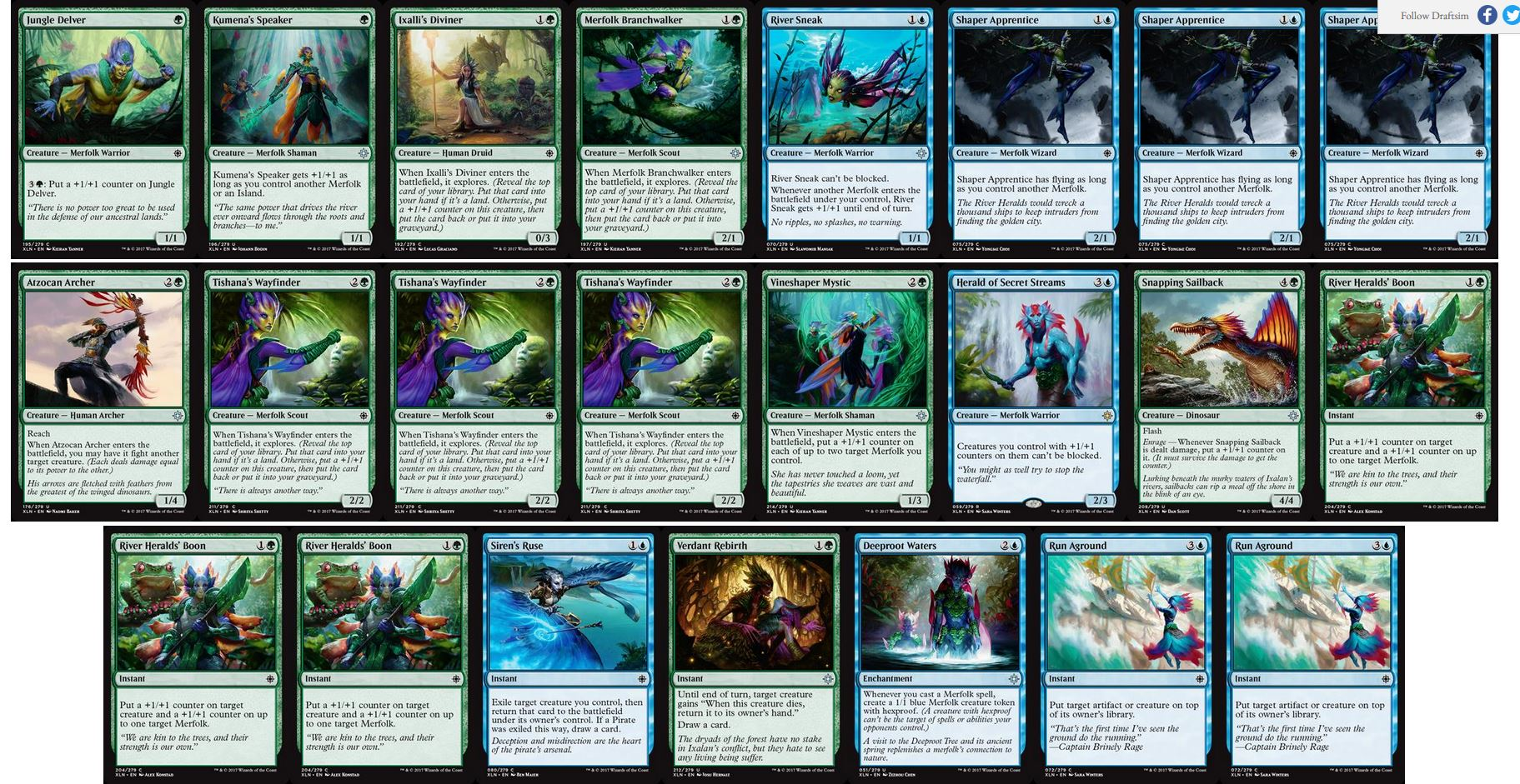 Ixalan Draft Archetypes Part 2: Dinosaurs, Merfolk, and Non
