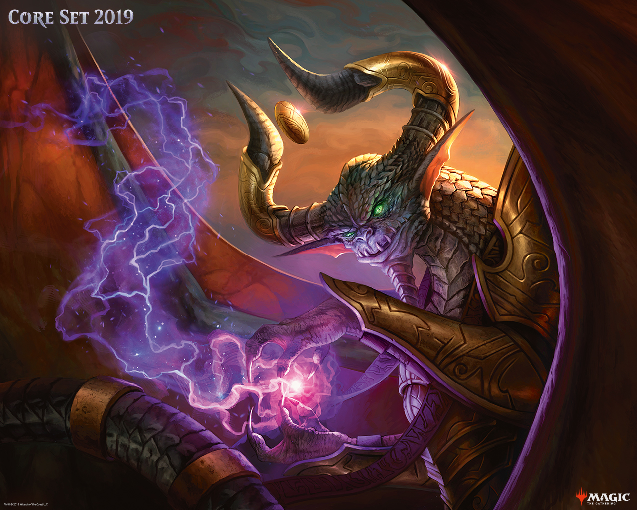 Core Set 2019 Nicol Bolas